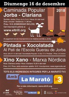 Caminada Popular Jorba - Clariana
