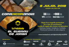 1a pedalada El Guerau de Jorba